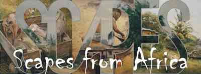 Scapes From Africa invitation graphic (2007)