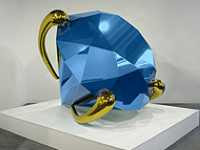 Jeff Koons - Blue Diamond