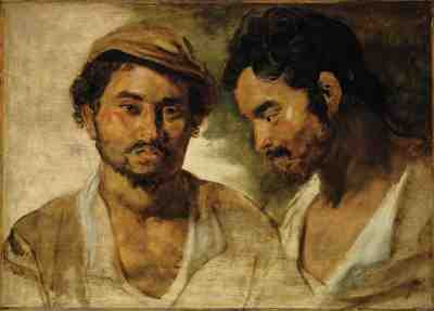 Peter Paul Rubens - Two studies of a Young Man © Christie's Images Limited 2007