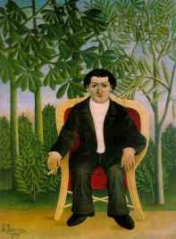 Henri Rousseau - Portrait of Joseph Brummer (1909)