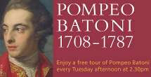 National Gallery Pompeo Batoni Tour Announcement (2008) detail