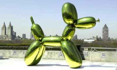 Jeff Koons - Balloon Dog, Yellow (1994-2000)