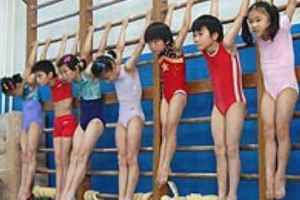 Pupils in Beijing's Shichahai Sports School (2007)