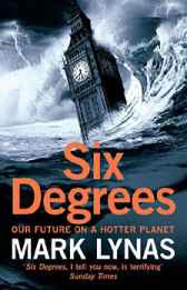 Cover Art: Six Degrees: Our Future on a Hotter Planet by Mark Lynas (2008)
