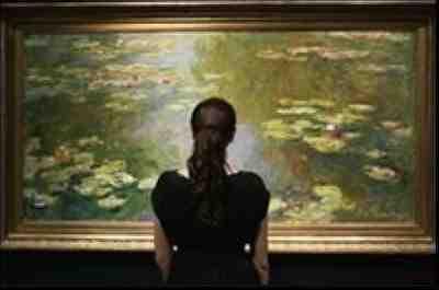 Claude Monet - Le bassin aux nymphéas (1919)