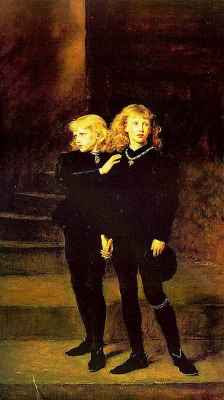 Sir John Everett Millais - Princes in the Tower (1878)