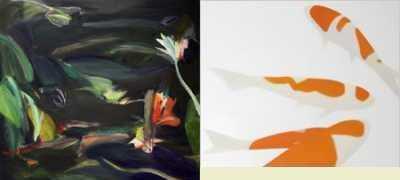 Kim Baker - Labyrinth II; Jörn Grothkopp - Koi