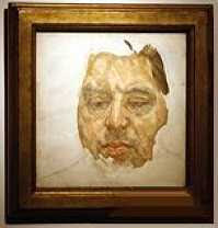 Lucien Freud - Unfinished Portrait of Francis Bacon