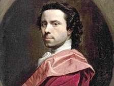 Allan Ramsay - Self-portrait (1749)