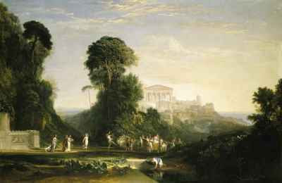 J.M.W. Turner - The Temple of Jupiter Panellenius (1816)