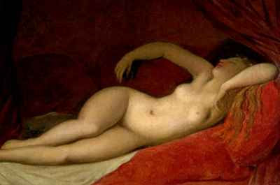 Ingres - A Sleeping Odalisque (1808)