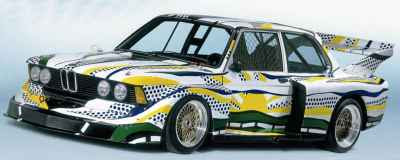 Roy Lichtenstein - Art Car (1977) BMW 320i Group Five Racing Version