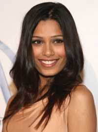 Freida Pinto, the love interest in Slumdog Millionaire (2008)
