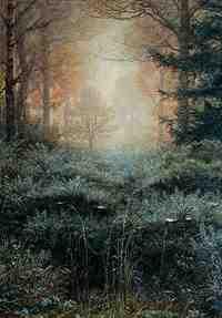 John Everett Millais - Dew-Drenched Furze (c.1890)