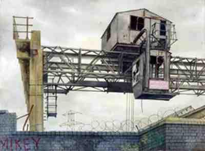 Arthur Lockwood - Derelict Gantry Crane, Wolverhampton