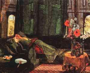 John Frederick Lewis - The Siesta (1879)