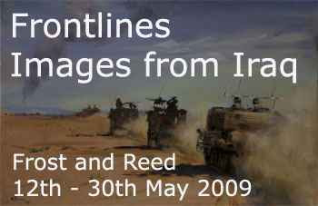 Graphic for Frontlines Images from Iraq at Frost & Reed 12th - 30th May 2009
