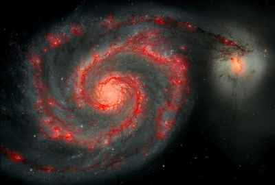 ESA/NASA - The Whirlpool Galaxy, M51 (2009)
