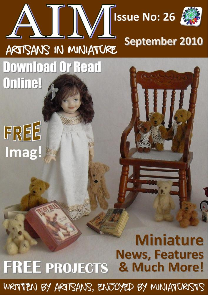 Dollhouse kitchen miniatures wonderful free dolls house for Free house magazines