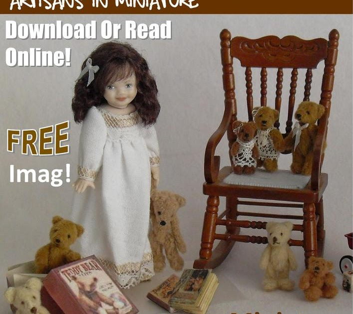 Dollhouse Kitchen Miniatures: Wonderful FREE Dolls House