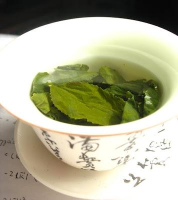 Thé vert lumineux ?