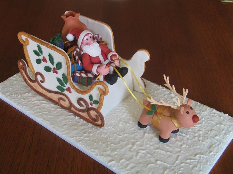 Cake Decorating Classes Tafe : Kylie s Cakes & Things: Fourth & Final Christmas Cake Class