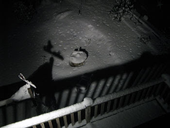 snow at night 1
