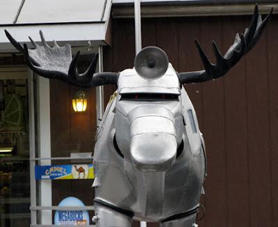 Cylon moose head