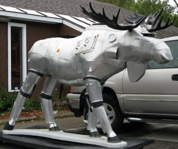 Cylon moose full shot