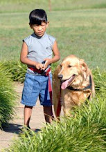 Brody and his service dog Millo
