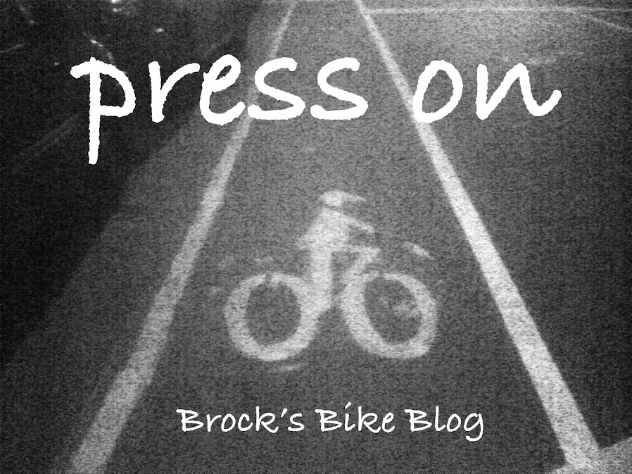 Brock's Bike Blog