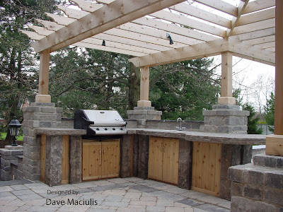 Outdoor Kitchen Design on Landscape Designer  January 2009