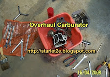 Overhaul Carburator