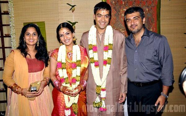 Soundarya Rajinikanth Engagement Ajith and Shalini