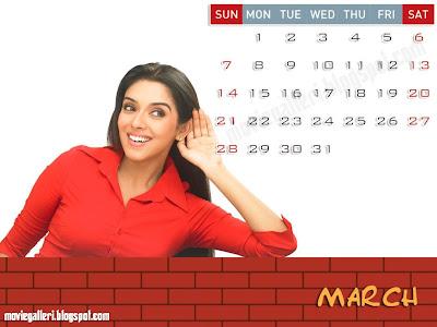 Asin 2010 Desktop Calendar