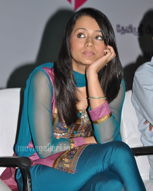 Trisha  - Trisha In Salwar Kameez at some event