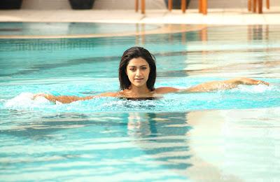 mamta mohandas swimsuit pictures swimming stills