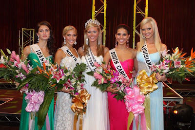 Brittany Pjetraj, Miss South Carolina Teen USA, was first runner up; ...