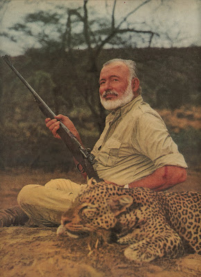 Hemingway on Safari - 1954 - HOVEY DESIGN