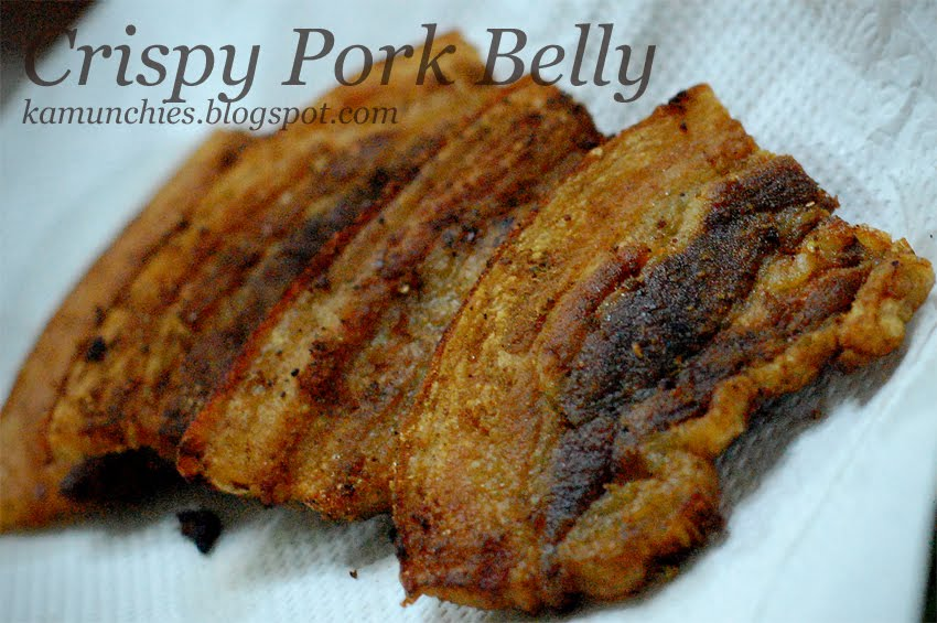Just sharing (the munchies)!: Crispy liempo (pork belly)