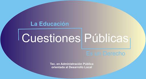 Tecnicatura en Administración Pública Orientada al Desarrollo Local