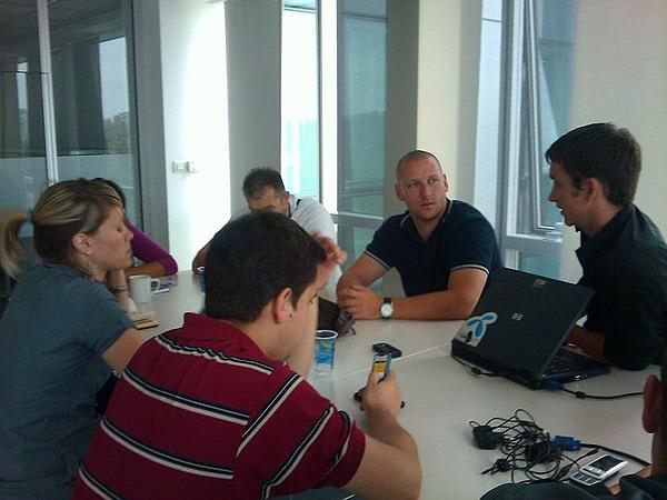 Sa ekipom u Telenoru