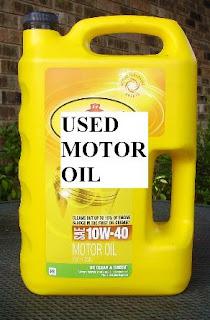 Stealth Survival Frugal Prepping Reusing Waste Motor Oil