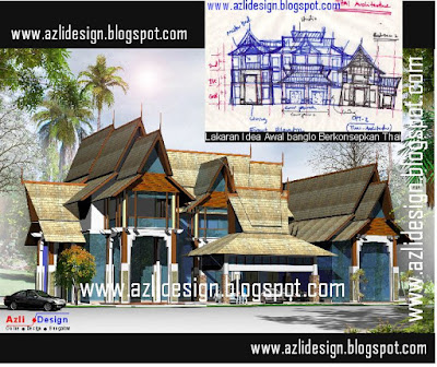 (IDEA DESIGN BUNGALOW) + ( PELAN BANGLO +PLAN BUNGALOW): March 2010