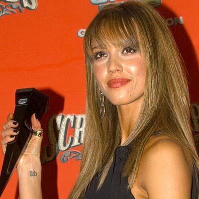 Angelina Jolie Tattoo Meaning. Jessica Alba Tattoos
