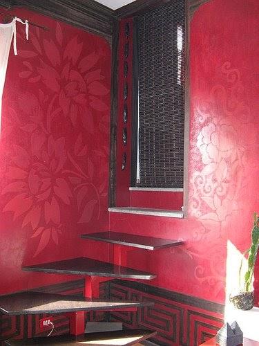 Pandecora decorazioni d 39 interni effetto cinabro - Decorazioni d interni ...