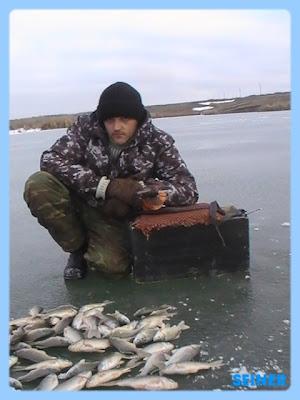 карасевая рыбалка в январе