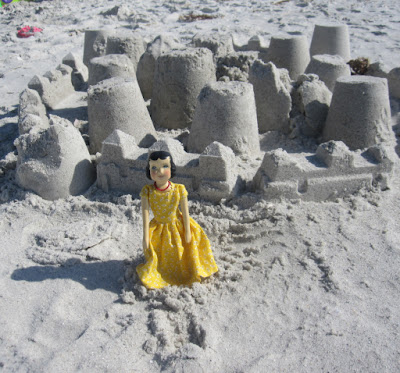 Gale Lyons Hitty Flora Doll--Sandcastles on Naples Beach