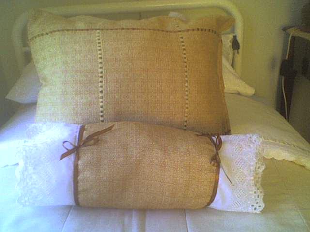 Las manualidades de veronica cojines para cama 02 - Cojines grandes para cama ...