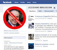 Berlusconi: in 18mila vogliono ucciderlo su Facebook